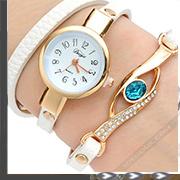 Armband mit Schmuck Uhr